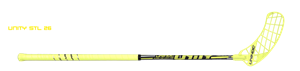 Floorballstav - Unihoc UNITY Super Top Light 26 - Gul / sort floorball stav 96 cm. - UDSALG, EKSTRA NEDSAT